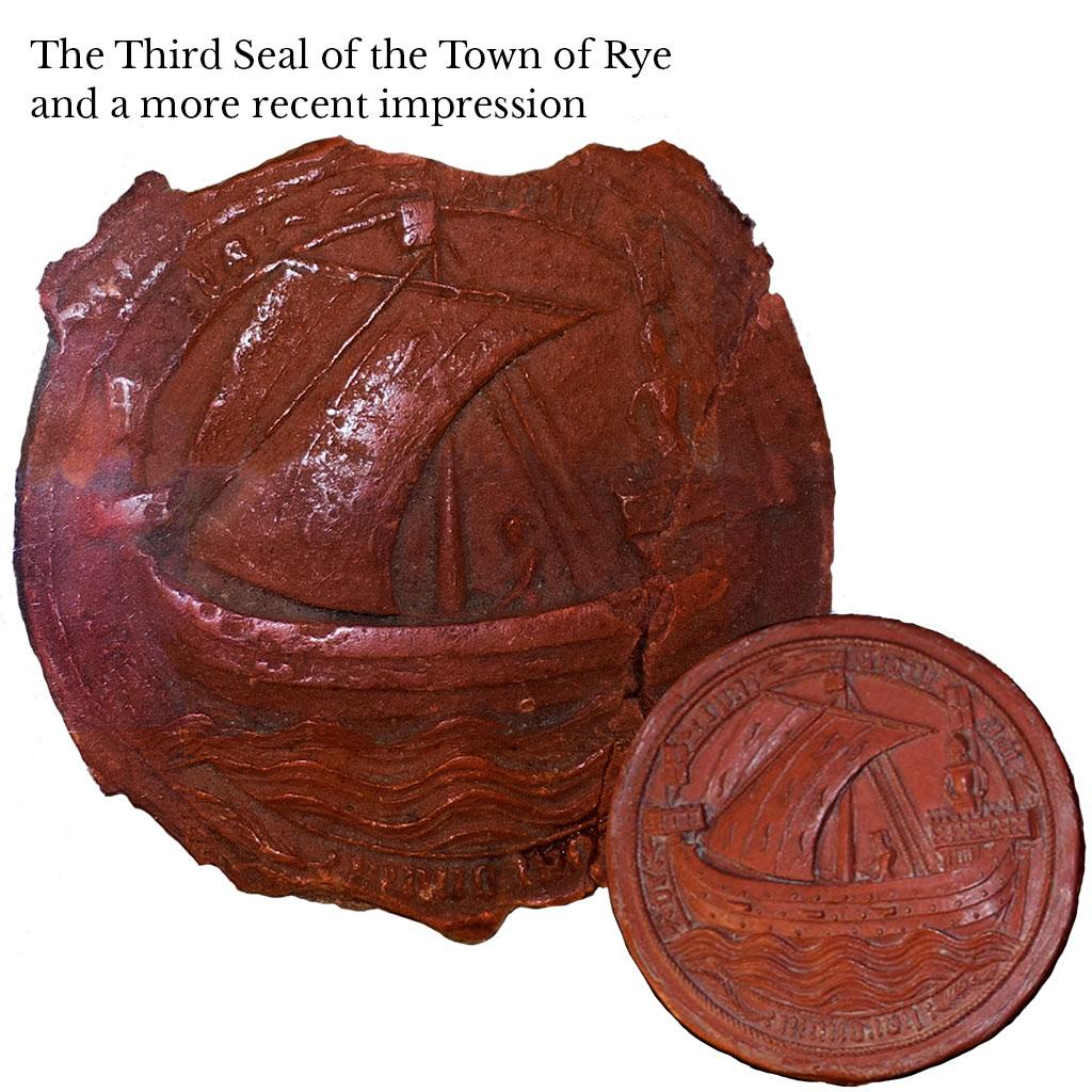 History of Rye, Rye History Museum, medieval history, medieval history museum, East Street Museum, east street rye, rye history museum, east street museum, Rye Town Seal, third seal of the town of rye, historical seal, rye seal