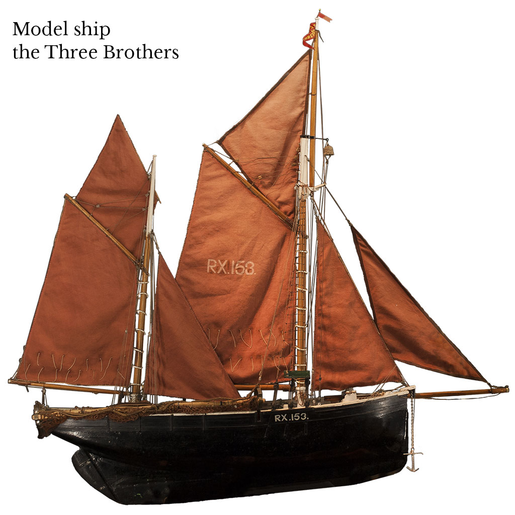 History of Rye, Rye History Museum, medieval history, medieval history museum, East Street Museum, east street rye, rye history museum, east street museum, the three brothers ship, model ship, medieval model ship, historic model ship, three brothers historic ship model,